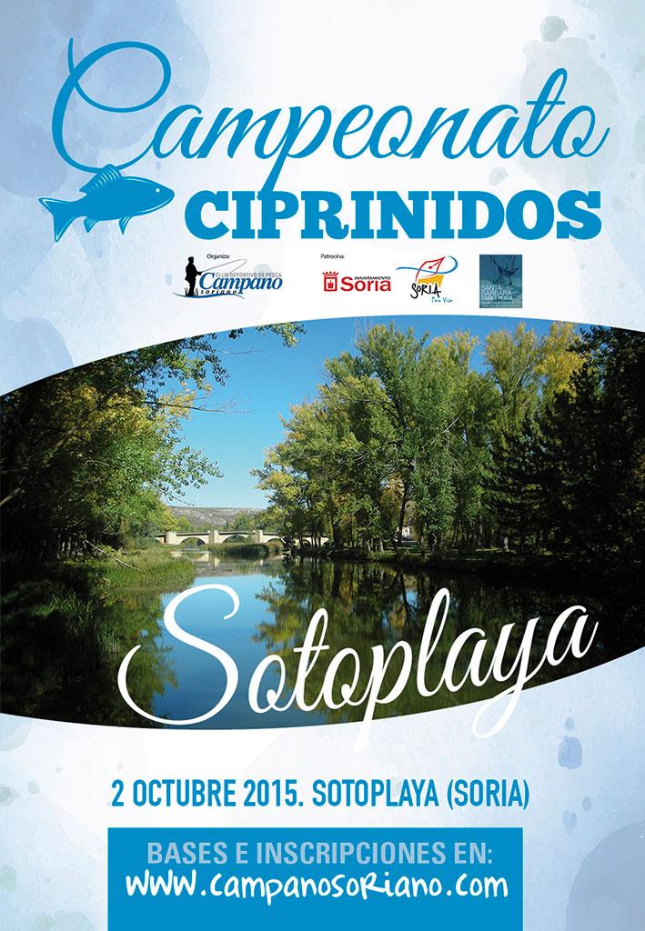 """XXI Campeonato de Pesca de Ciprínidos """"San Saturio"""""""