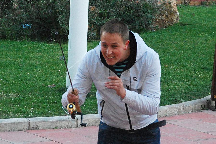 Mario De Diego ganador del campeonato provincial de mosca