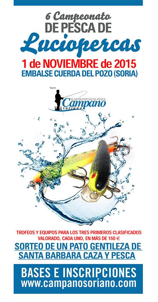 VI Campeonato de Pesca de Luciopercas