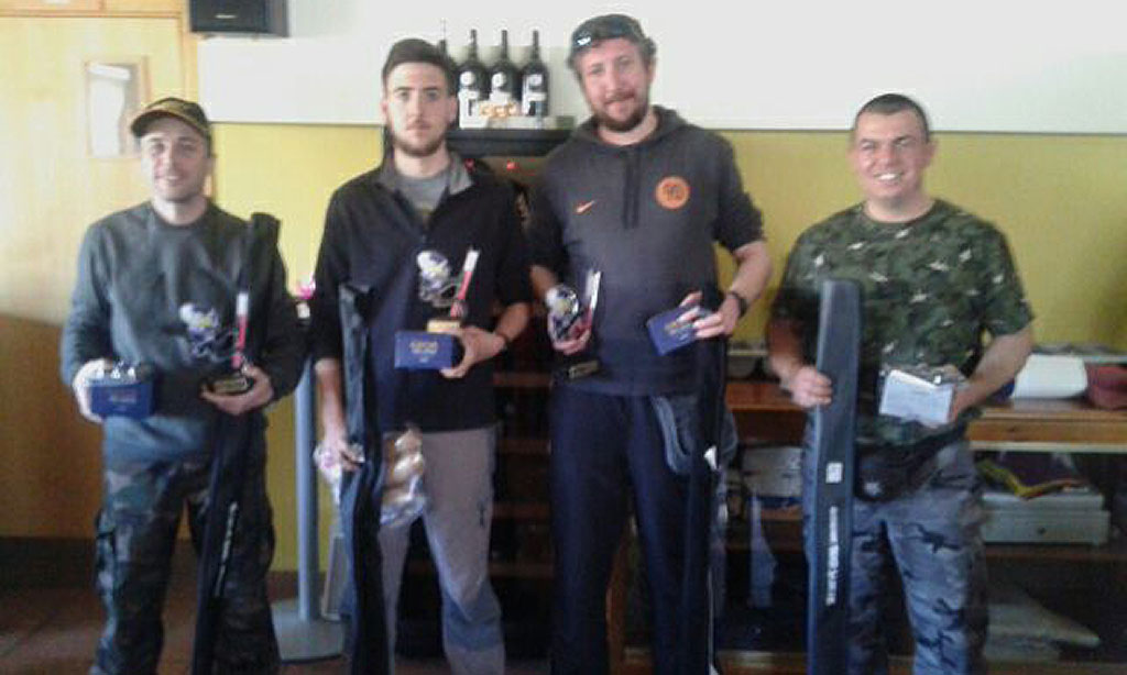 Luis Ángel Arias vencedor en el VI Campeonato de Pesca de Luciopercas