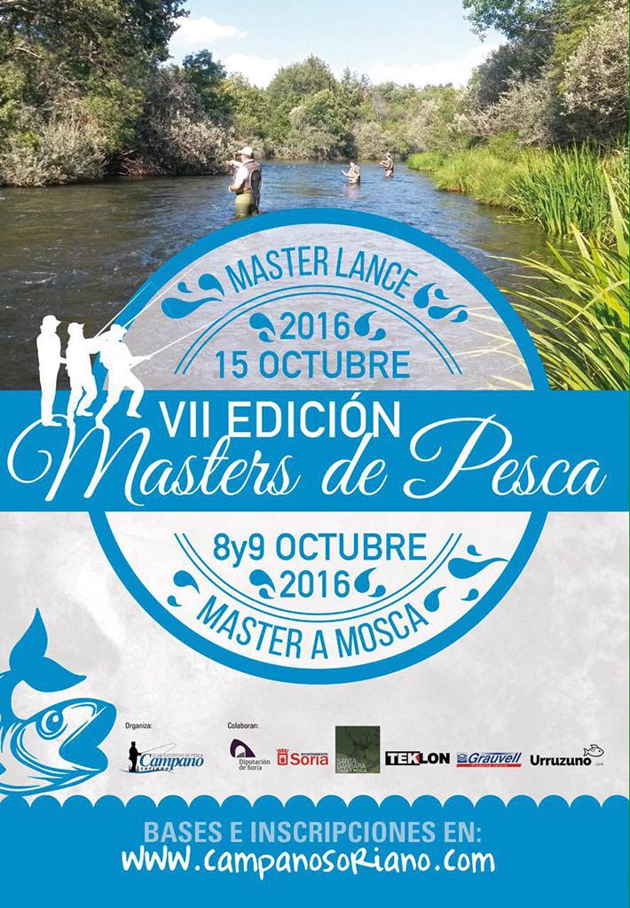 """VII Edición Masters Pesca """"Río Duero"""""""